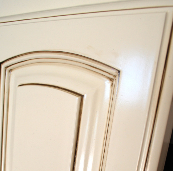 Antique White Glazed Kitchen Cabinets: Glazing Cabinet Doors